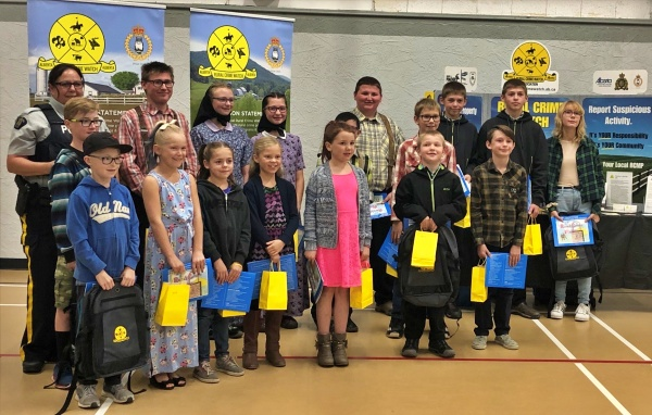 The 2019 Southeast Rural Crime Watch Poster Contest Winners.